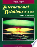 International Relations 1914-1995 Of The New Gcse Syllabuses Strongly