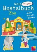 Mein Sticker-Bastelbuch. Zoo