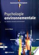 illustration Psychologie environnementale