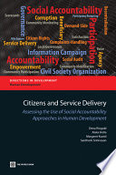 Citizens and Service Delivery