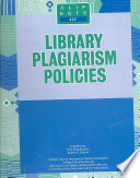 Library Plagiarism Policies