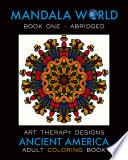 Mandala World: Adult Coloring Book