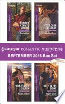 Harlequin Romantic Suspense September 2016 Box Set