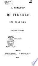 L assedio di Firenze capitoli 30 di Anselmo Gualandi