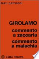 Commento a Zaccaria