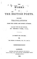 download ebook works of the british poets pdf epub