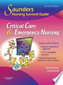 Saunders Nursing Survival Guide  Critical Care   Emergency Nursing