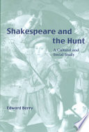 Shakespeare and the Hunt