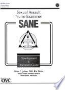 Sexual Assault Nurse Examiner Sane