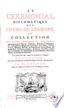 Suppl Ment Du Corps Universel Diplomatique Contenant L Histoire Des Anciens Traitez Jusques Charlemagne