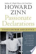 Passionate Declarations