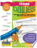 Texas Dailies: 180 Daily Activities for Kids