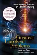 The World's 20 Greatest Unsolved Problems Pdf/ePub eBook