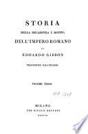 Storia della decadenza e rovina dell Impero romano