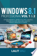 Windows 8 1 professional Volume 1 and Volume 2