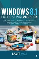 Windows 8.1 professional Volume 1 and Volume 2 Book