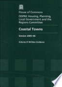 Coastal Towns Session 2005-06