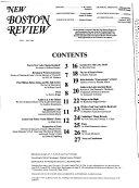 New Boston Review Book PDF