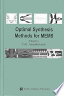 Optimal Synthesis Methods for MEMS
