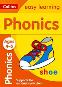 Collins Easy Learning Preschool   Phonics Ages 4 5