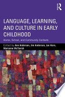 Language  Learning  and Culture in Early Childhood