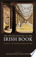 The Oxford History of the Irish Book  Volume III