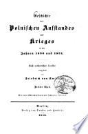 Feldzug des Feldmarschalls Paskewitsch in Polen im Jahre 1831