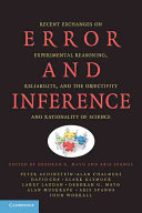 Error and Inference