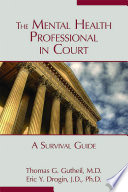 The Mental Health Professional in Court