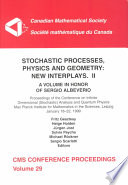 Stochastic Processes Physics And Geometry