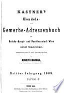 Handels- und Gewerbe-Adressbuch des österreichischen Kaiserstaates