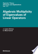 Algebraic Multiplicity of Eigenvalues of Linear Operators