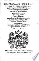 Compendio della stirpe di Carlo Magno