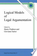 Logical Models of Legal Argumentation