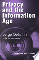 Privacy and the Information Age
