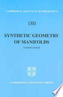 Synthetic Geometry of Manifolds