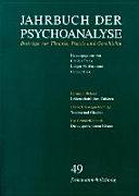 Jahrbuch der Psychoanalyse / Band 49