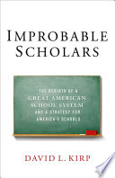 Improbable Scholars : it can't start from scratch, and...