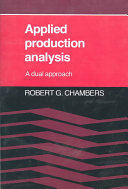 Applied Production Analysis