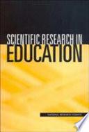 Scientific Research in Education