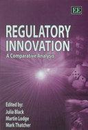 Regulatory Innovation