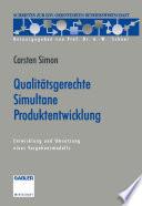 Qualitätsgerechte Simultane Produktentwicklung