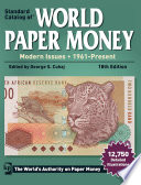 2013 Standard Catalog of World Paper Money   Modern Issues