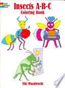 Insects A B C Coloring Book