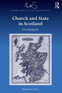 Church and State in Scotland