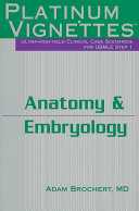 Anatomy   Embryology