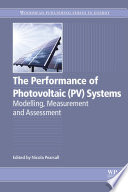 The Performance of Photovoltaic  PV  Systems