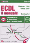 ECDL il manuale  Syllabus 4 0  Windows 2000  Office 2000  Con CD ROM