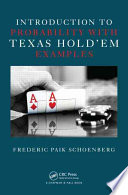 Introduction to Probability with Texas Hold   em Examples