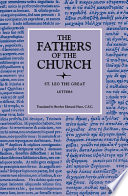 Letters  The Fathers of the Church  Volume 34